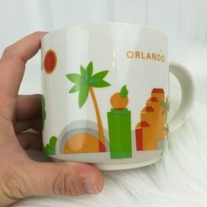 Starbucks You Are Here Collection Orlando city mug